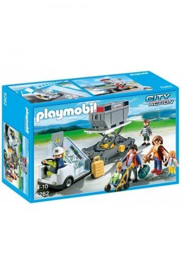 Playmobil City Action - Landgang m. Godstrailer 5262