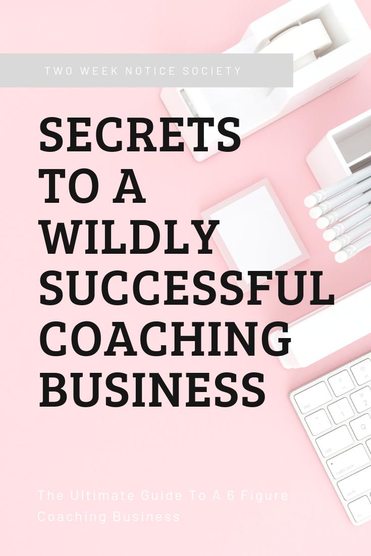 How To Start A 6 Figure Coaching Business | Start a ...