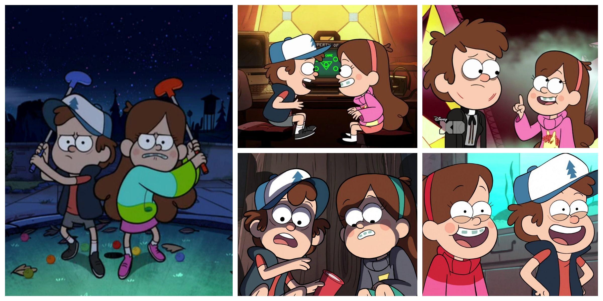 Dipper Y Mabel Pines Son Dos Hermanos Gemelos Enviados Por Sus Padres A Pasar Sus Vacaciones De Verano Con Dipper And Mabel Gravity Falls Gravity Falls Dipper