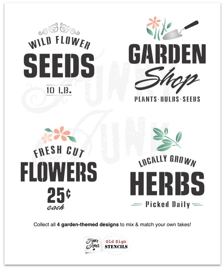 Download Locally Grown Herbs in 2020 | Growing herbs, Stencils ...