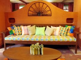 Mexican Interior Design Idea For Wall Room Divider Bathroom Space !