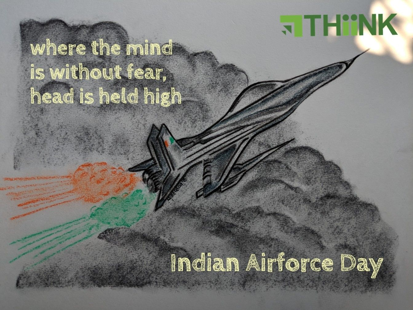 THiiNK celebrates Indian Airforce Day (With images) Air
