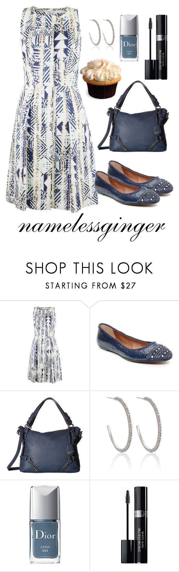 """""""untitled #552"""" by namelessginger ❤ liked on Polyvore featuring Closet, Donald J Pliner, Jessica Simpson, Astrid & Miyu and Christian Dior"""