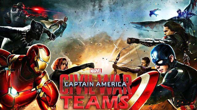 """Escoge tu equipo de """"Captain America: Civil War"""", de acuerdo a tus gustos en comida."""