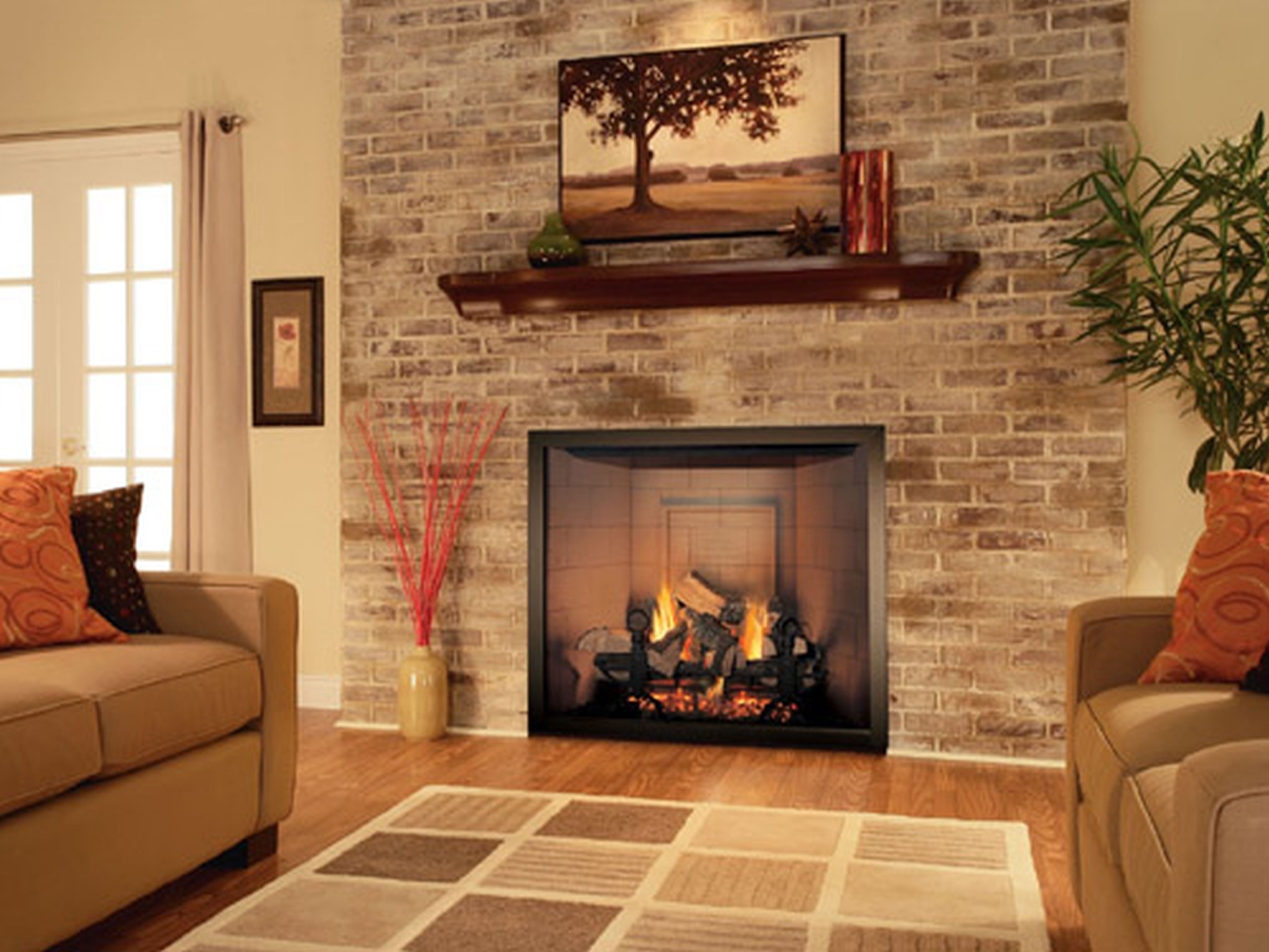 10 Hot Ideas for Fireplace Facing