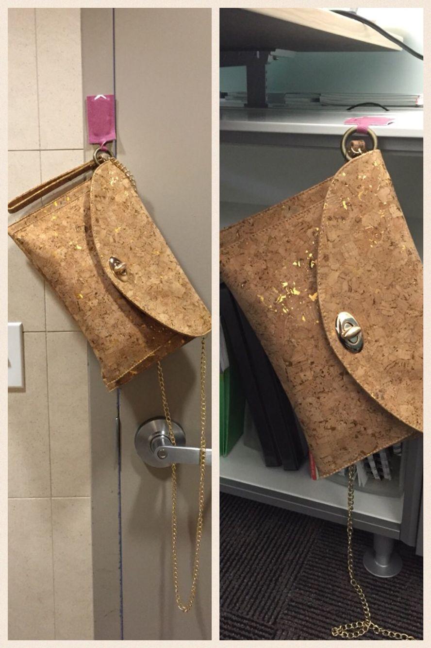 Bagnet Works As Your Magnetic Purse Hanger On Restroom Door Frames When  Thereu0027s No Hook,
