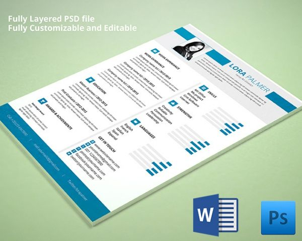 Free Cover and Title Page Samples for Word   OpenOffice Resume - resume templates free for word