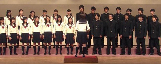 Schuluniformen Japan