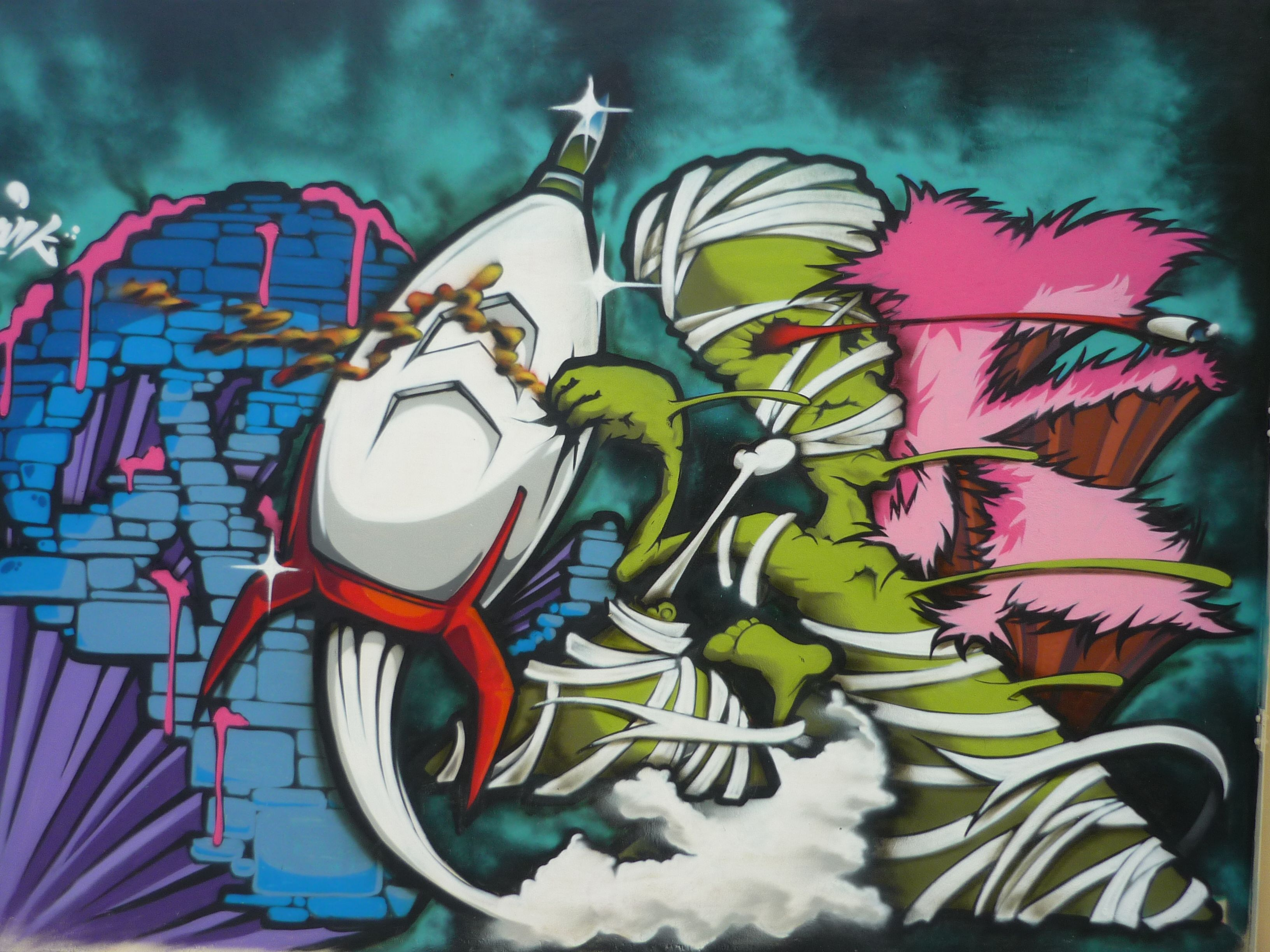 Sane - Graffiti - Tigre – Buenos Aires « Bash Trent – Zapatillas personalizadas – Describe tu personalidad