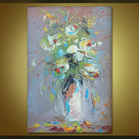 Öl Malerei, Abstrakte Malerei, Ölgemälde, Wand Dekor, Rahmen Gemälde,