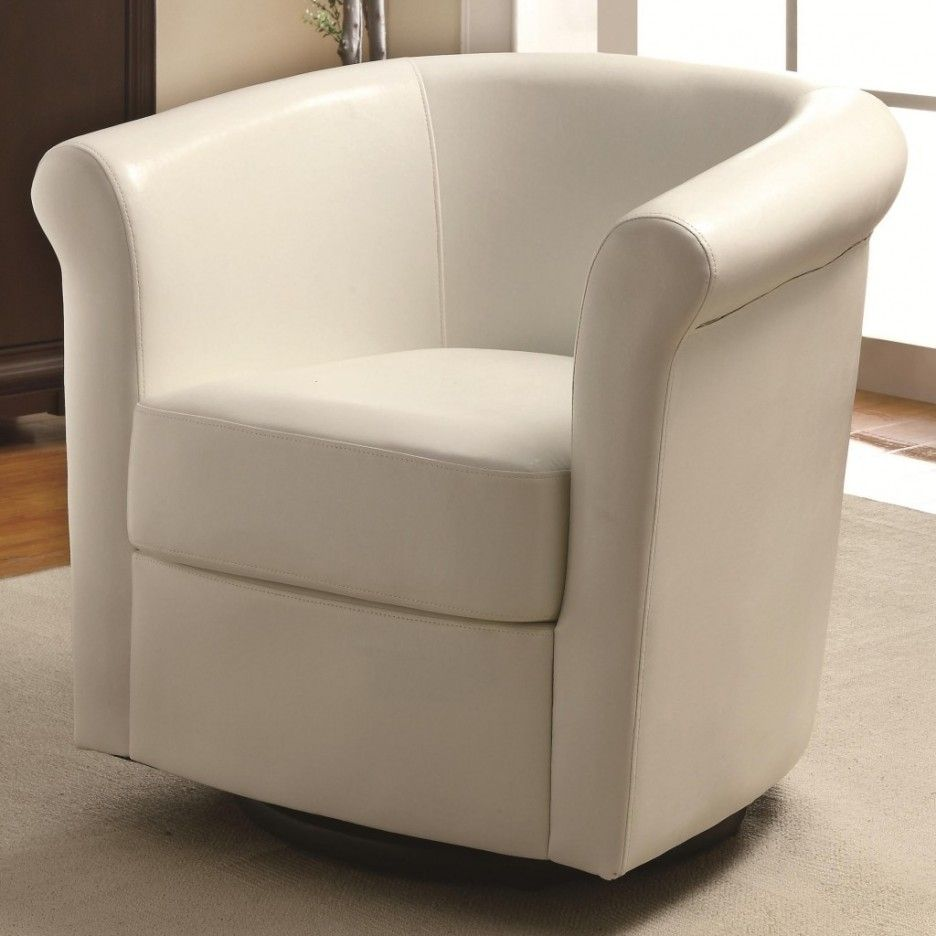 Round Swivel Living Room Chair