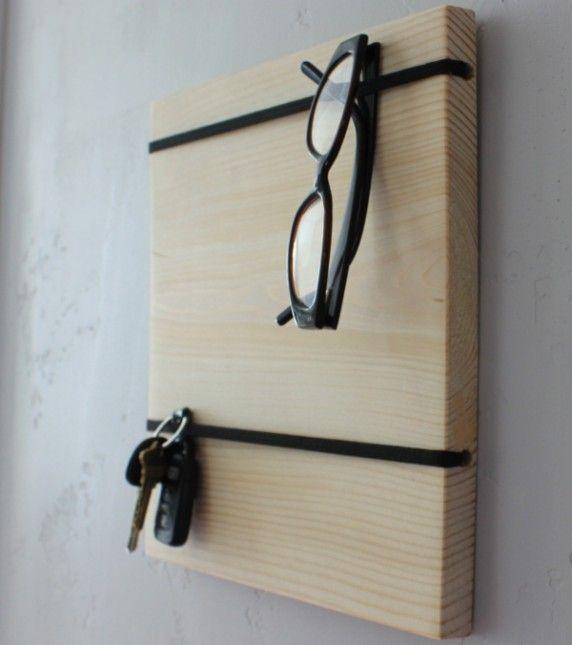 diy organizer board 5 gift idea n tzliche sachen pinterest brillenhalter brille und flure. Black Bedroom Furniture Sets. Home Design Ideas