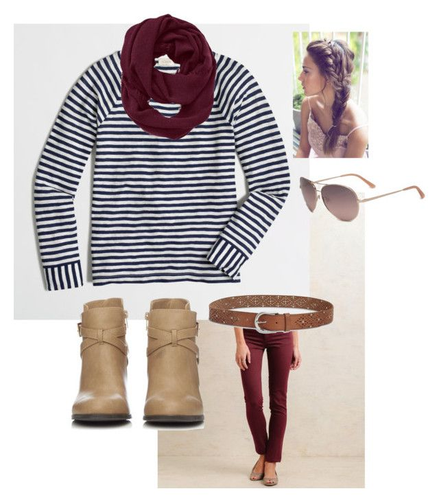 """""""Fall stripes"""" by erin-lutts on Polyvore featuring J.Crew, Wallis, Athleta, Bebe and Lucky Brand"""