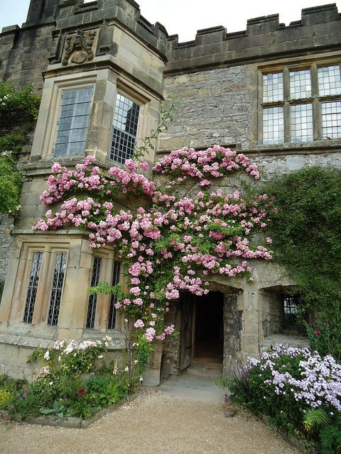 Hall Derbyshire English Manor House Oh My 古い家 ガーデン