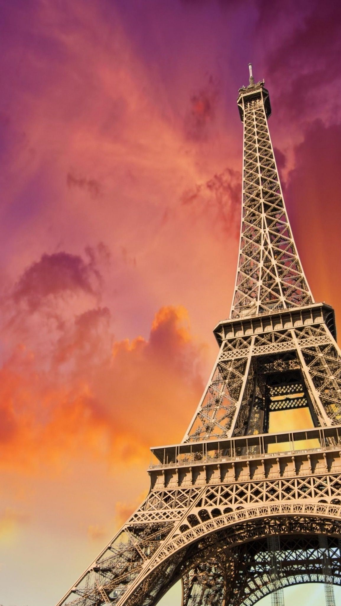Обои Эйфелева башня, рисунок. Города foto 16