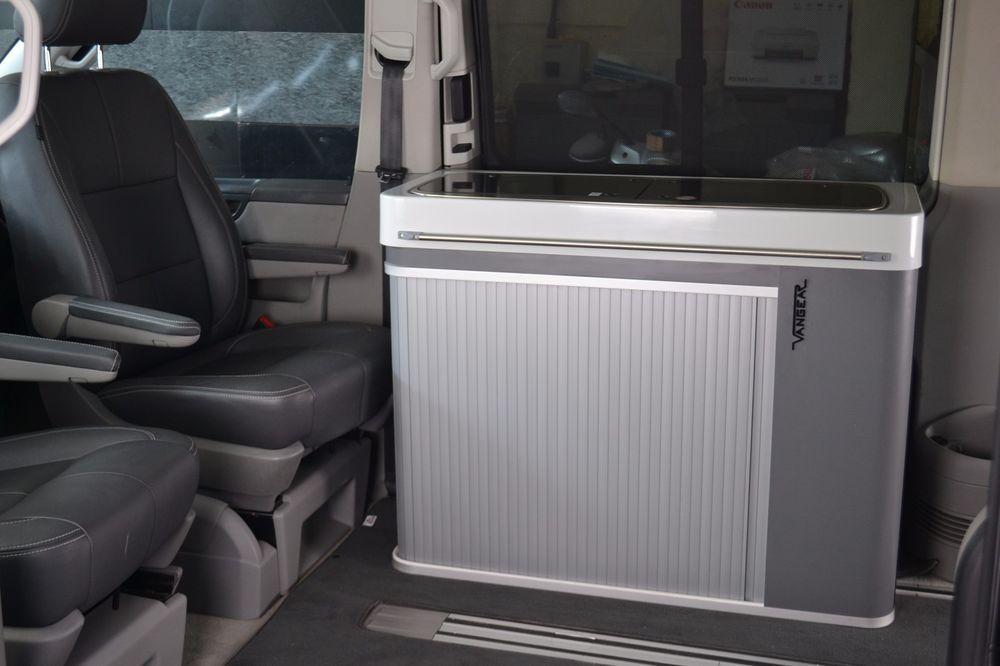 The Vangear Maxi modular campervan kitchen unit/pod with