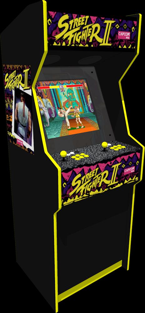 The Street Fighter Ii Replica Arcade Machine Jeux Retro Salle De Jeux D Arcade Jeux D Arcade