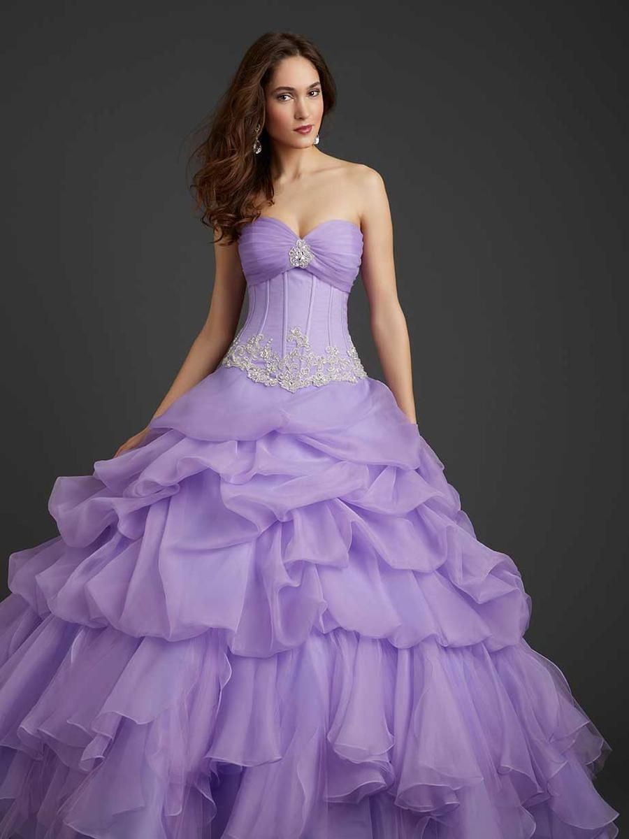Allure Quineanera Dress Q365 | Terry Costa Dallas | Quinceanera ...
