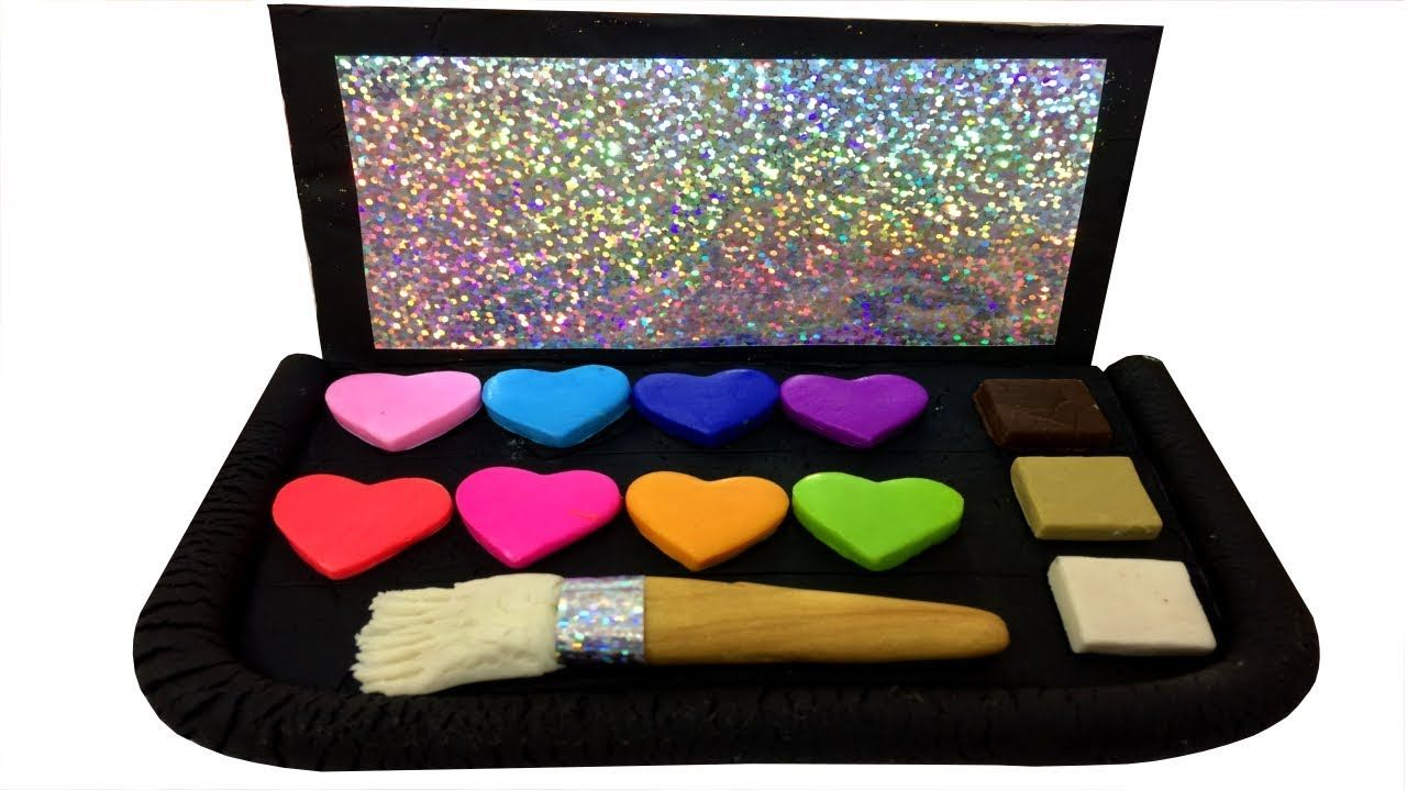 How To Make Cosmetics Set MakeUp With Play Doh DIY