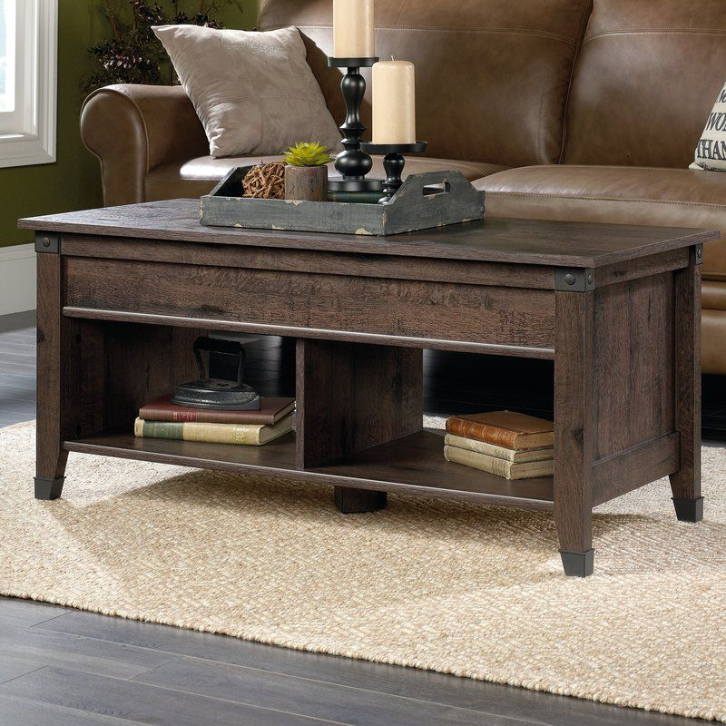 Chantrell Lift Top Coffee Table With Storage With Images
