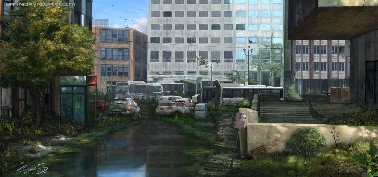 Todd Foster S The Last Of Us Environment Artist In Naughty Dog Pinterest 1 Pinterest Environment