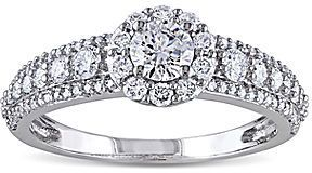 jcpenney FINE JEWELRY 1 CT. T.W. Diamond 14K White Gold Ring on shopstyle.com
