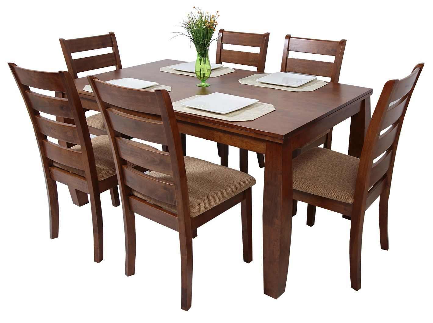 Commodity juego de comedor horacio 6 sillas house for Set sillas comedor