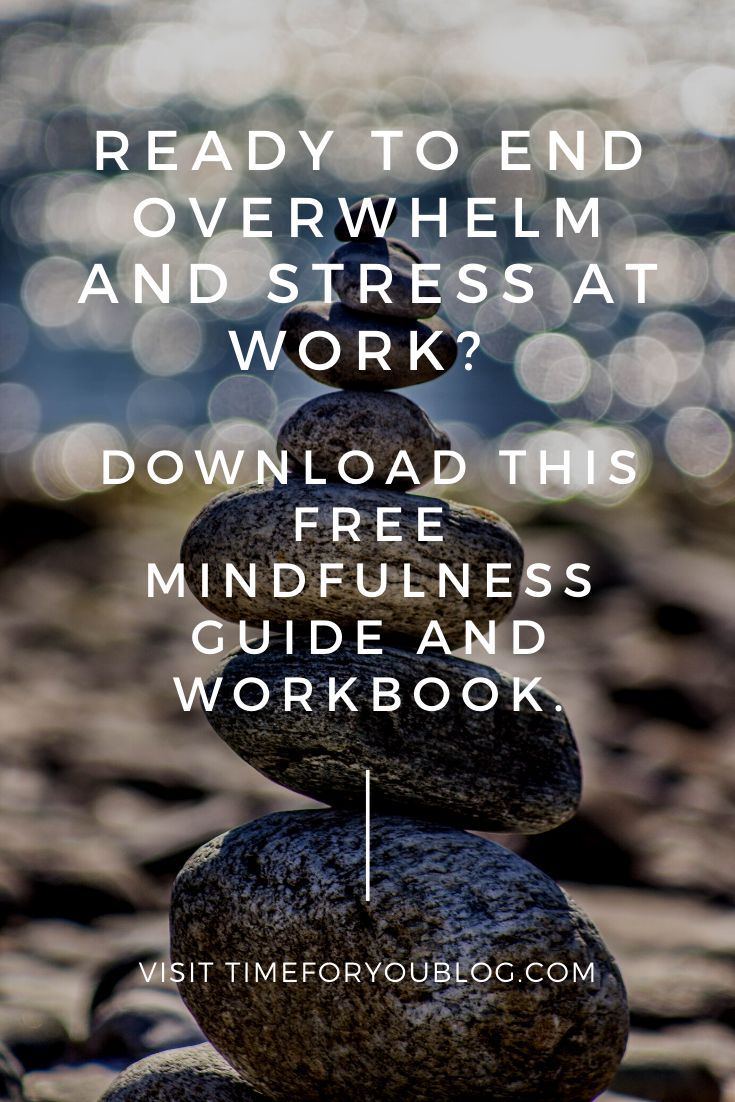 21 easy practices for calm and focus at work. Learn how to be more mindful with my FREE guide!  #mindfulness #mindfulnessatwork #calm #focus #calmandfocus #habits #dailyhabits #mindset #success #selfimprovement #personalgrowth #personaldevelopment #selfhe