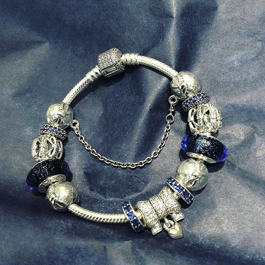 Jewelry Box For Pandora Charms: Pandora Bracelet. Winter Christmas 2015