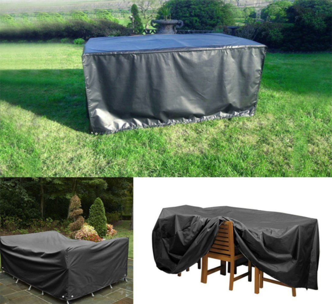 Tabla de muebles de jardín Impermeable Cubierta de poliéster de ...