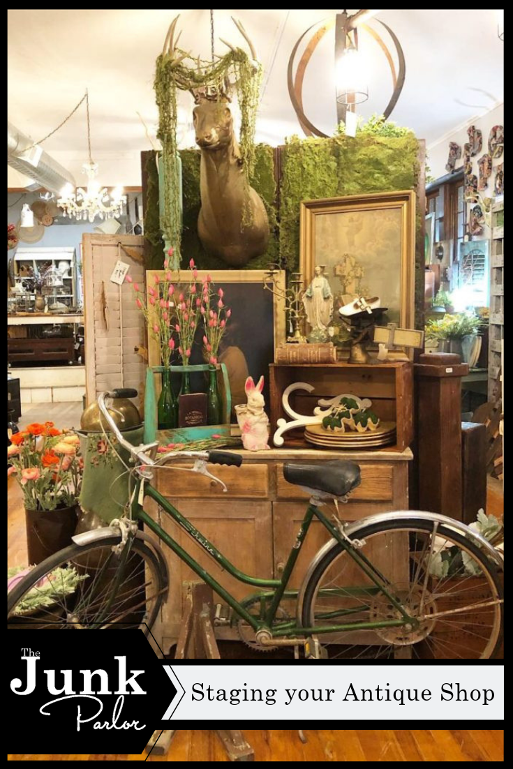 Staging Your Antique Shop With Images Vintage Booth Display