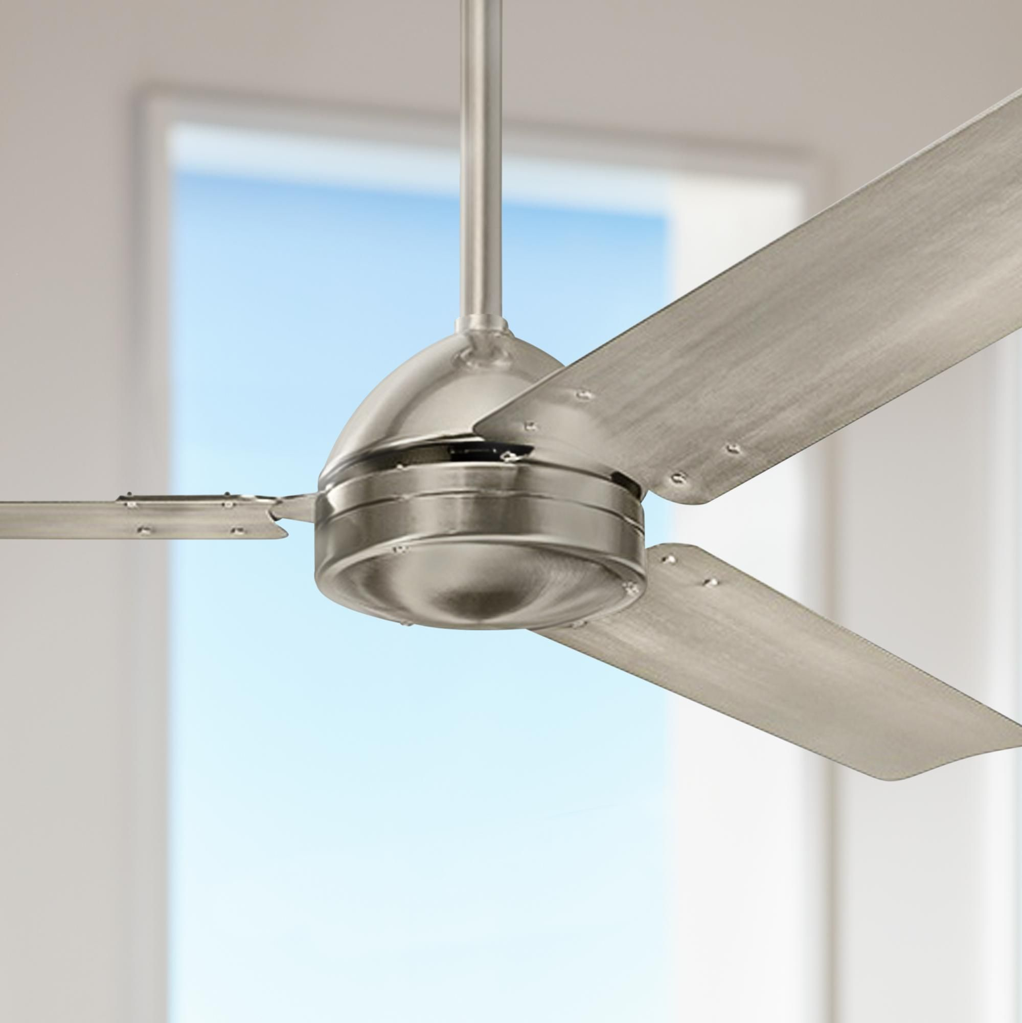 Ceiling Fans 56 Kichler Todo Brushed Stainless Steel Ceiling Fan In 2020 Stainless Steel Ceiling Fan Ceiling Fan Brushed Stainless Steel