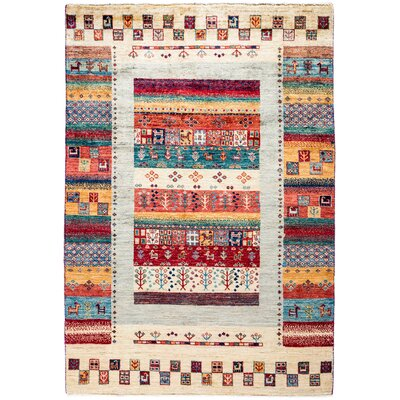 Solo Rugs Tribal Hand Knotted Area Rug 4 1 X 5 10 Solo Rugs Area Rugs