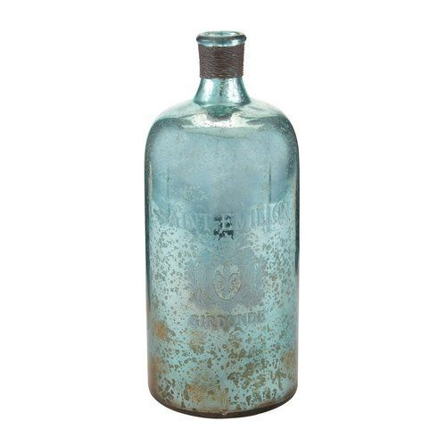 Glass Decorative Bottles Add Unique Beauty To Your Home With Mercury Glass Decorative