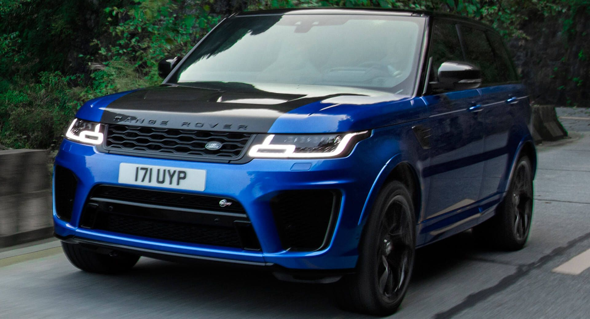 Range Rover Sport SVR Sets A New Record On The Tianmen