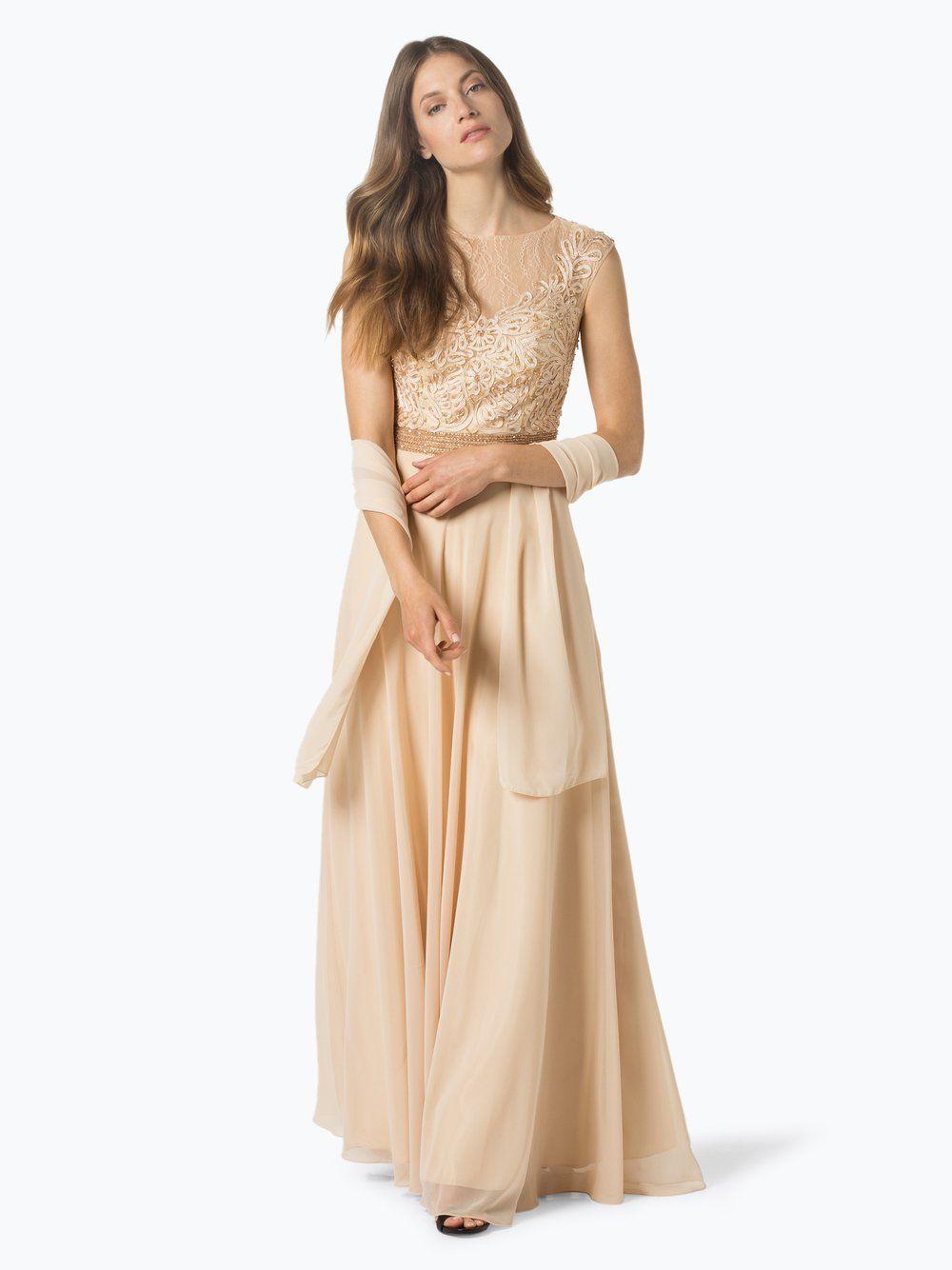 Niente Damska sukienka wieczorowa z etolą-13  Dresses, Wedding