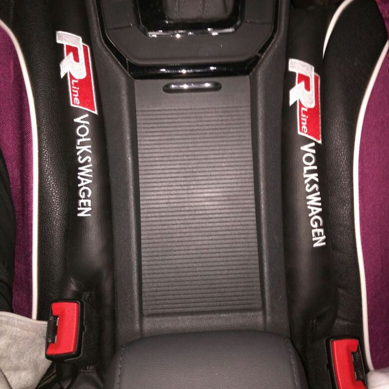 Asiento de coche de Slot Gap Pad Relleno Relleno Spacer Tapón Del Enchufe Para VW Volkswagen Polo Golf 4 5 6 7 Tiguan Touran Touareg Passat B5 B6