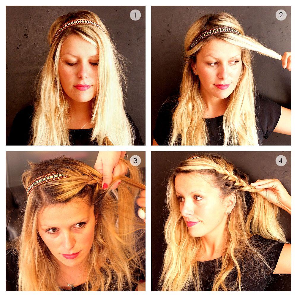32+ Coiffure facile headband cheveux long le dernier