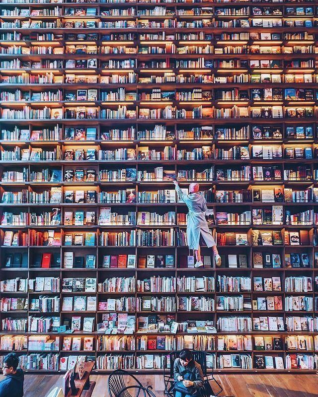 Riesen Bücherregal