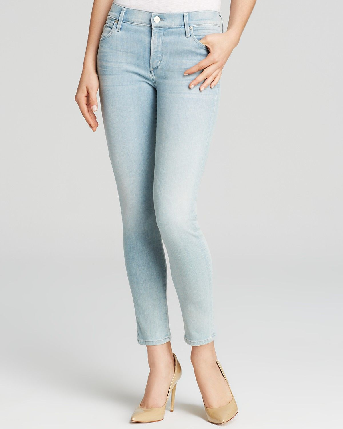 Citizens of Humanity Jeans - Avedon Ankle Skinny in Dusted | Bloomingdale's