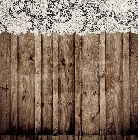 Barnwood White Lace Country Shower Curtain On CafePress