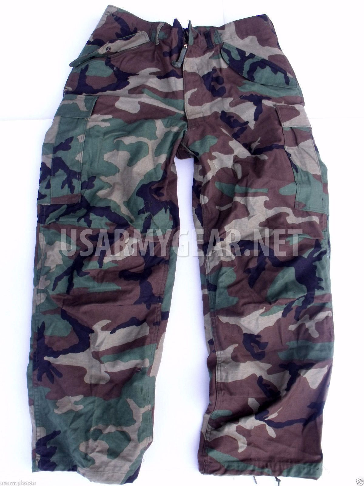54f01c615a US Army Military Woodland Camouflage M65 BDU Cargo Field Pants Trousers +  Liner | US Army Gear