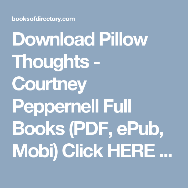 Download pillow thoughts courtney peppernell full books pdf epub download pillow thoughts courtney peppernell full books pdf epub mobi click fandeluxe Images