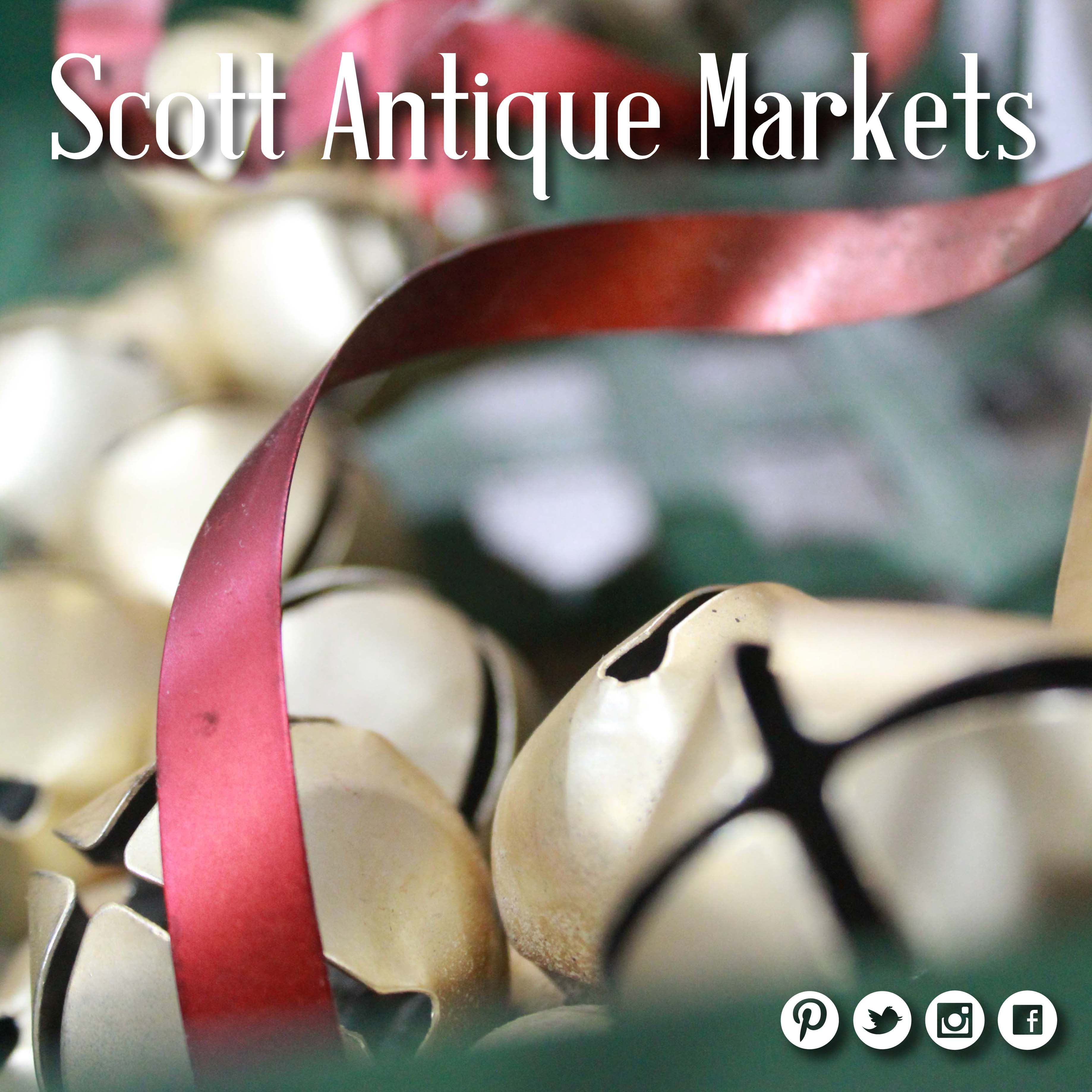 Ring-a-ling, hear them ring. Soon it will be Christmas day. #scottantiquemarkets #jinglebells # ...