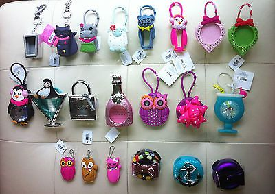 Bath Body Works Hand Sanitizer Pocketbac Holder Car Fereshener