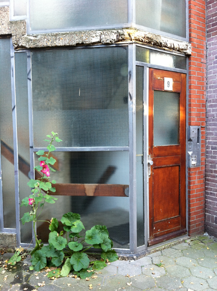 front door. Neighborhood door