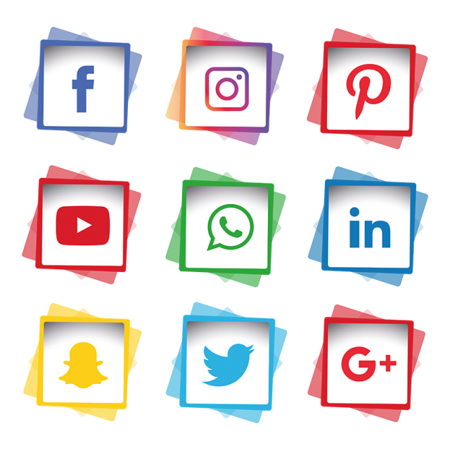 Social Media Icons Set Social Icons Media Icons Social Media Icons Png And Vector With Transparent Background For Free Download Social Media Logos Media Icon Social Media Icons
