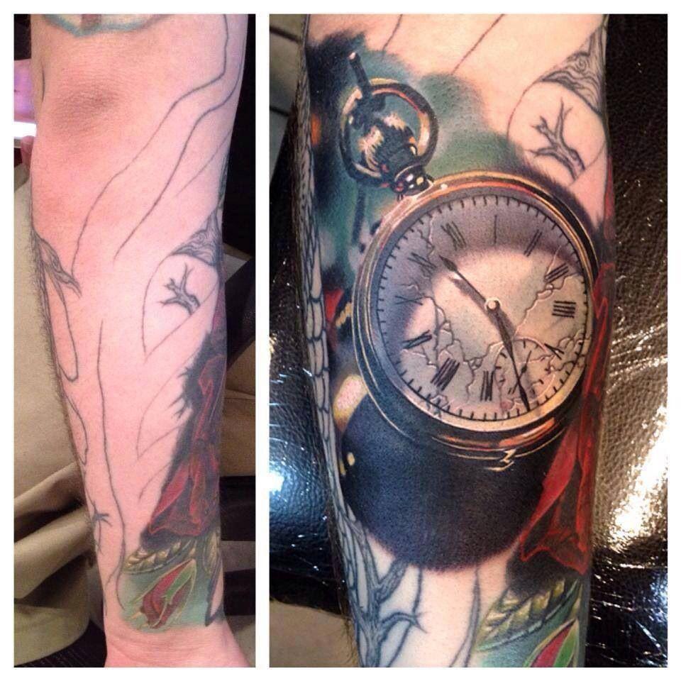 Awesome coverup tattoo