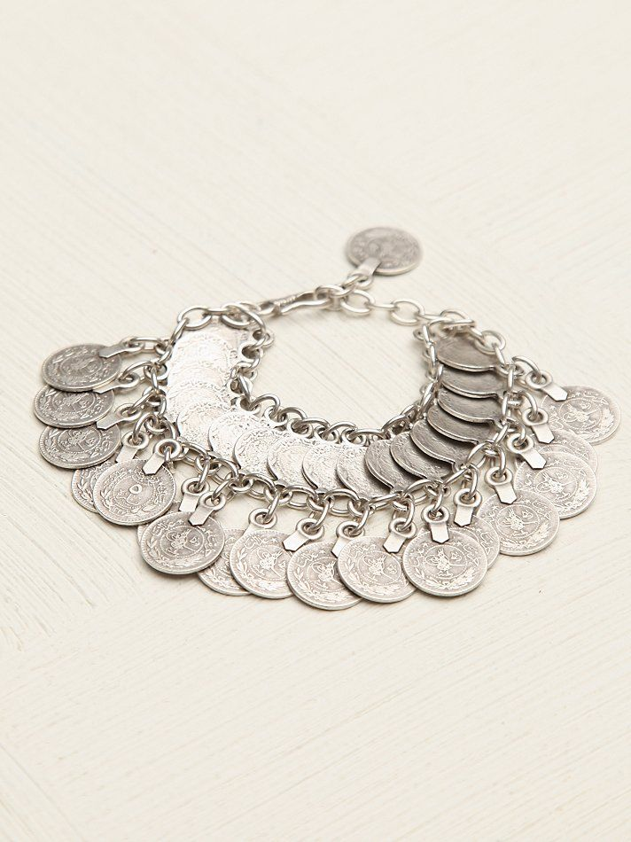 Free People Rize Double Layer Bracelet, R$88.66