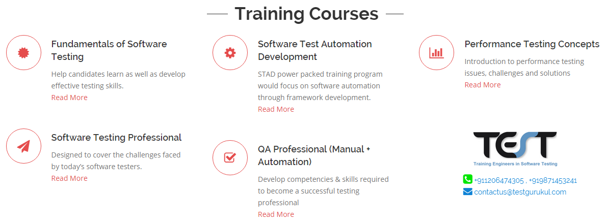 Software Testing Courses Most Software Testing Job Profile Are